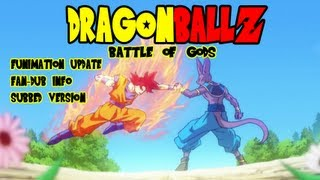 Dragon Ball Z: Battle of Gods - Dragon Ball Z: Battle of Gods - Full Movie Available, Funimation English Dub, & Subtitled Version