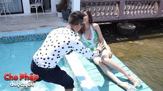 Đứng trước gái xinh ngực đẫy đà, trai Hà Nội không kiềm chế nổi cảm xúc khiến bạn gái hú hồn
