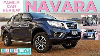 Family car review: Nissan Navara 2018