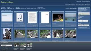 Digital Asset Management - ResourceSpace Introduction