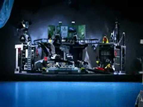 BATMAN LEGO TOYS -  THE BATCAVE Vintage TV Toy Commercial