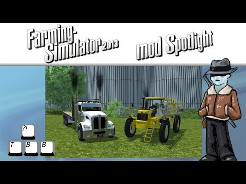 Farming Simulator 2013 Mod Spotlight - S5E29 - Flatbed Sprayer