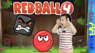 RED BALL 4 (Part 2 of Green Hills Level) with Aaden & Mum :)