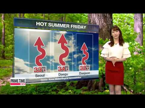 Scorching hot conditions forecast for Friday