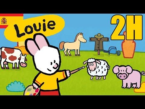 Dibujos Animados Para Niños - 2 Horas De Louie: La Campaña - Compilacion #3 HD