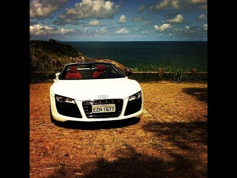 Audi R8 Spyder: feito para encurtar distncias