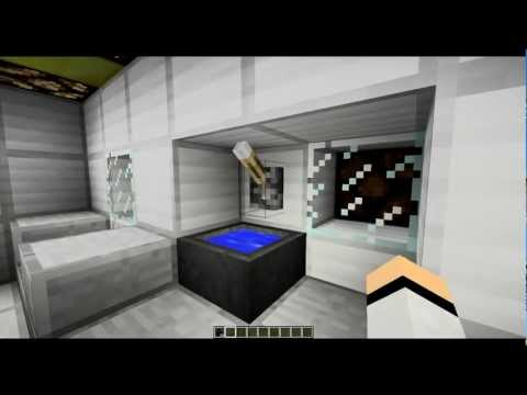 Minecraft как сделать ванную комнату