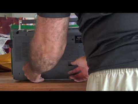 Radio Gravador Sanyo MW/SW1/SW2/FM M9830K