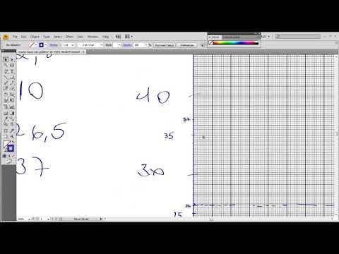 como fazer gráficos em folha milimetrada