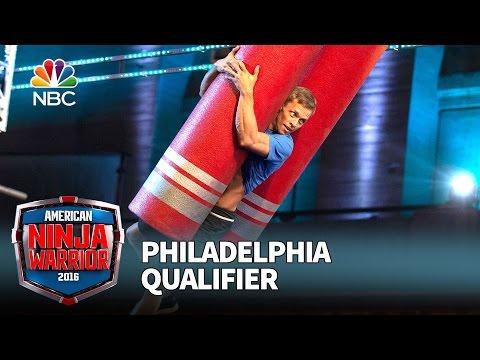Geoff Britten at the Philadelphia Qualifier - American Ninja Warrior 2016