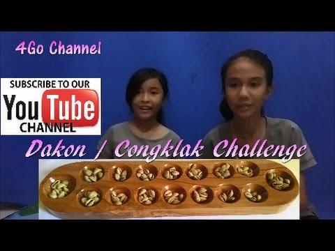 Dakon / Congklak Game Challenge Permainan Tradisional Shania Vs Lia