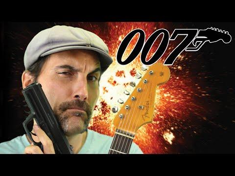 James Bond - 007 - Theme Song - Guitar Lesson - Tutorial - EASY...