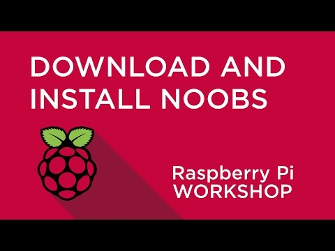 Raspberry Pi Workshop - Chapter 1 - Download and Install NOOBS