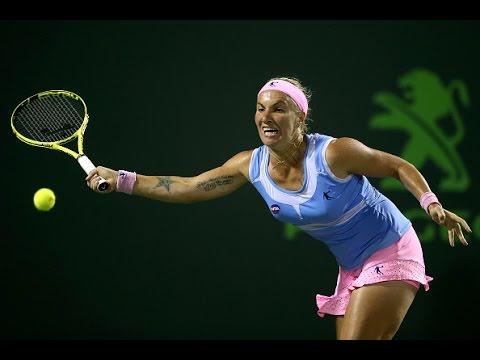 2016 Miami Open Quarterfinals | Svetlana Kuznetsova vs Ekaterina Makarova | WTA Highlights