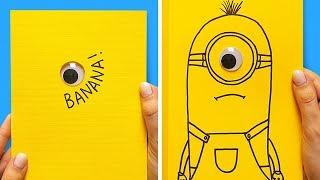 33 FUN AND EASY PAPER CARDS TO SURPRISE YOUR FRIENDS
