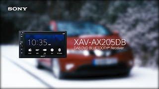 XAV-AX205DB – Android Auto™, Apple CarPlay, DVD and DAB+