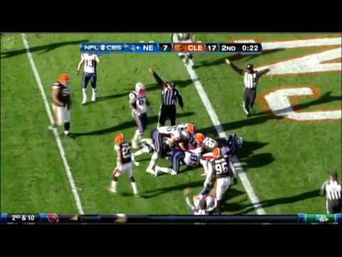 (NFL) Cleveland Browns SHOCKINGLY Defeat Patriots 2010 Highlights