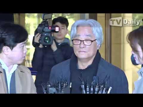 [TD영상] '성폭행 의혹' 이윤택, 경찰 출석
