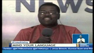 KTN Mind your language with Ochieng