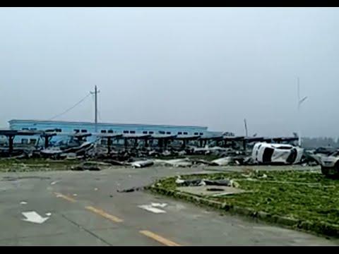 Tornado Kills 51 in Eastern China's Jiangsu