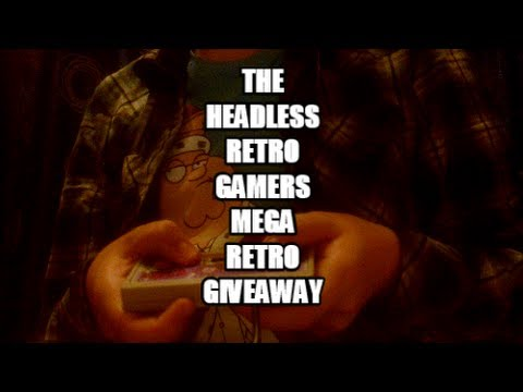 The Headless Retro Gamer's Mega Retro Giveaway [free stuff]