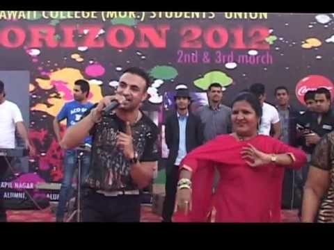 Madam Dance on Raja Baath Chaska Live ;D