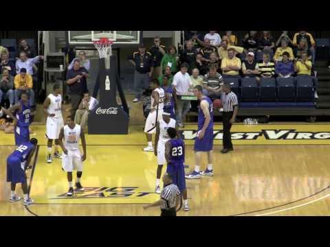 WVU Basketball 2009 2010 ; MSU 7'8
