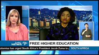 DISCUSSION: Free higher education with Minister Mkhize