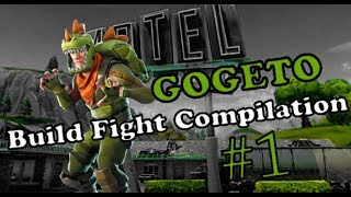 Fortnite Gogeto Build Fight Compilation #1