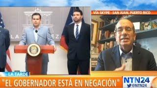 """""""Diría que hay consenso en Puerto Rico de que Rosselló no puede seguir gobernando"""": Anibal Acevedo"""