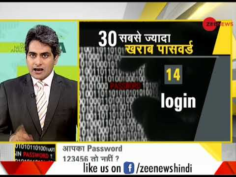 DNA: Security check of top worst passwords
