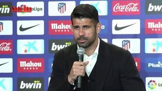 Tin Thể Thao 24h Hôm Nay (7h10 - 2/1/2018) : Diego Costa Chính Thức Ra Mắt Atletico Madrid