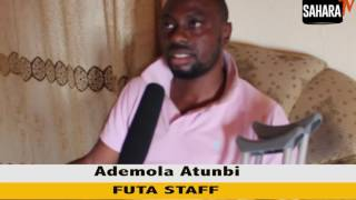 Staff Of Federal University Of Technology Akure Run Over By Vice Chancellor Vehicle Speaks