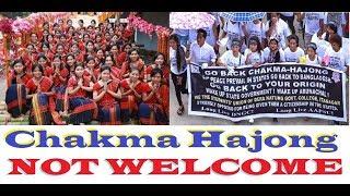 Chakma Hajong issue intensified !!!