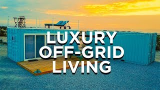 Custom Off-Grid Container Tiny House | AirBnB