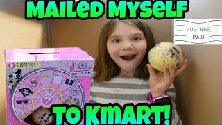 I Mailed Myself to Kmart to Get Wave 2 Confetti Pops! Shoutouts and Reading Mean Comments!