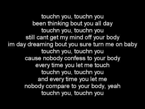 Rick Ross Ft. Usher- Touchn You Lyrics On Screen 2012 video