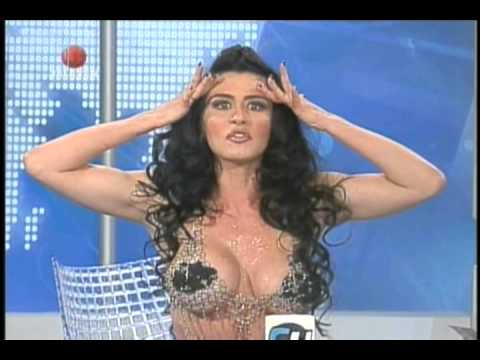 Diosa Canales junto a Luis Chataing (05-06-2013) Televen
