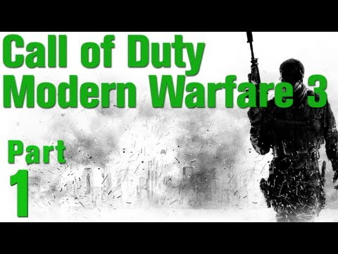 Modern Warfare 3 Walkthrough Part 1 - Prologue / Black Tuesday [No Commentary / HD]