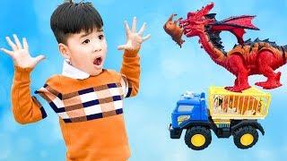 Trò Chơi Săn Khủng Long Giải Cứu Các Con Vật ♥ Min Min TV Minh Khoa