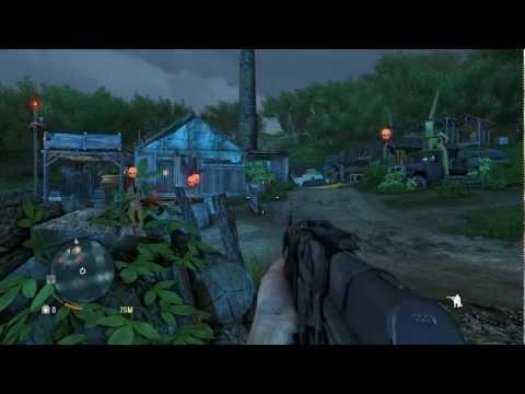 Far Cry 3 Gameplay 3 : Virando Comida de Tubarão , Tigre Branco e