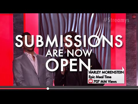 Streamy Awards 2014 Submissions Now Open