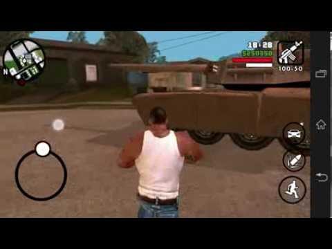 Grand Theft Auto: San Andreas + trucos Para Android