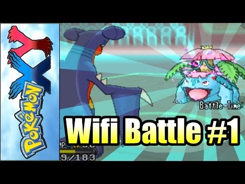 Pokemon X and Y - Wifi Battle #1 -