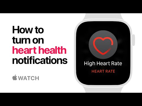 Apple Watch Series 4 — How to turn on heart health notifications — Apple