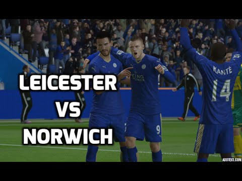 [hd] leicester city vs norwich city premier league 27