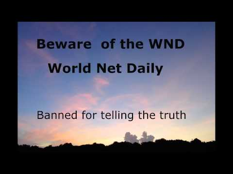 Beware of WND - World Net Daily News