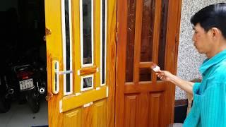 Hướng dẫn cách làm sơn giả gỗ đẹp giống như gỗ thật 95%