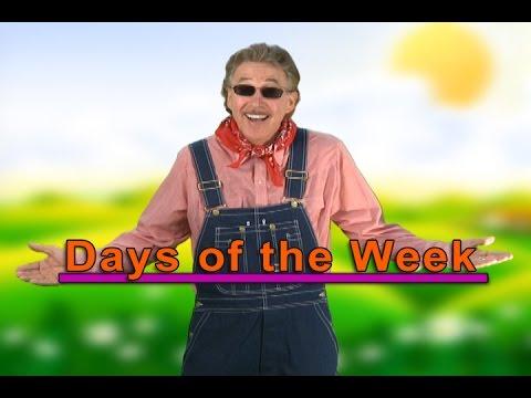 7 Days of the Week Song  Days of the Week Song  Days of the Week  Jack Hartmann