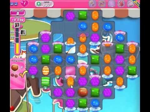 How to beat Candy Crush Saga Level 137 - 3 Stars - No Boosters - 52.160pts
